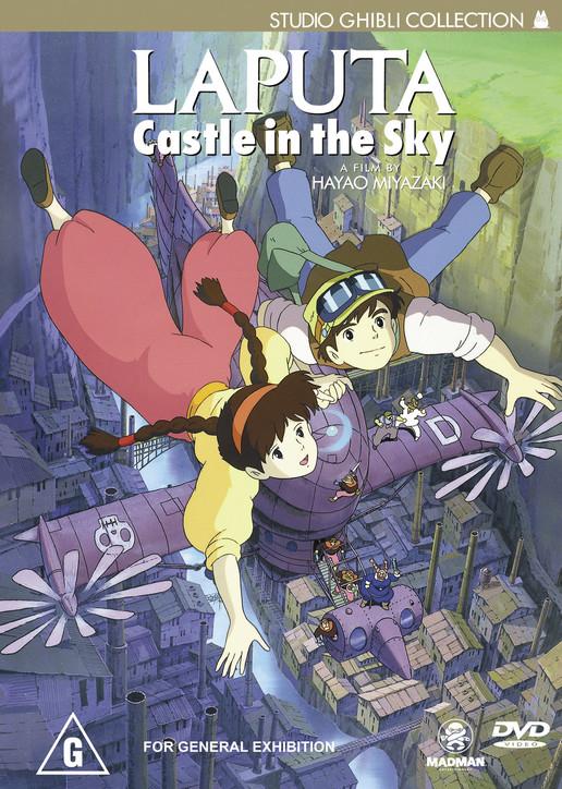 Laputa Castle in the Sky DVD in 2020 Castle in the
