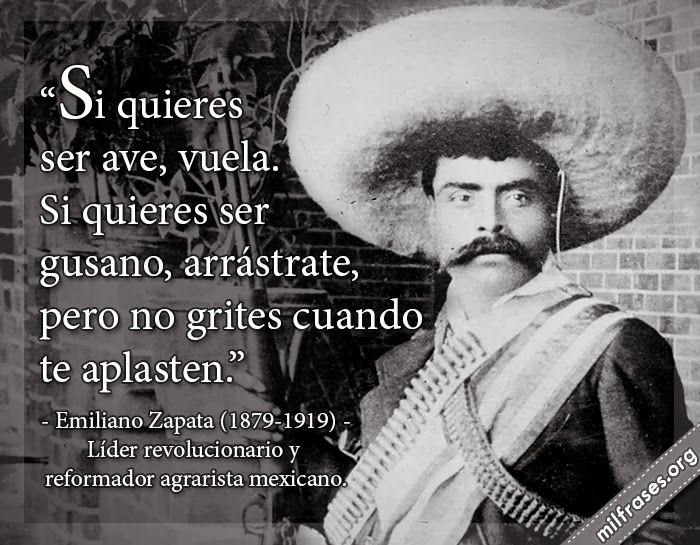 Emiliano Zapata Quotes Enchanting Emiliano Zapata Líder Revolucionario Y Reformador Agrarista