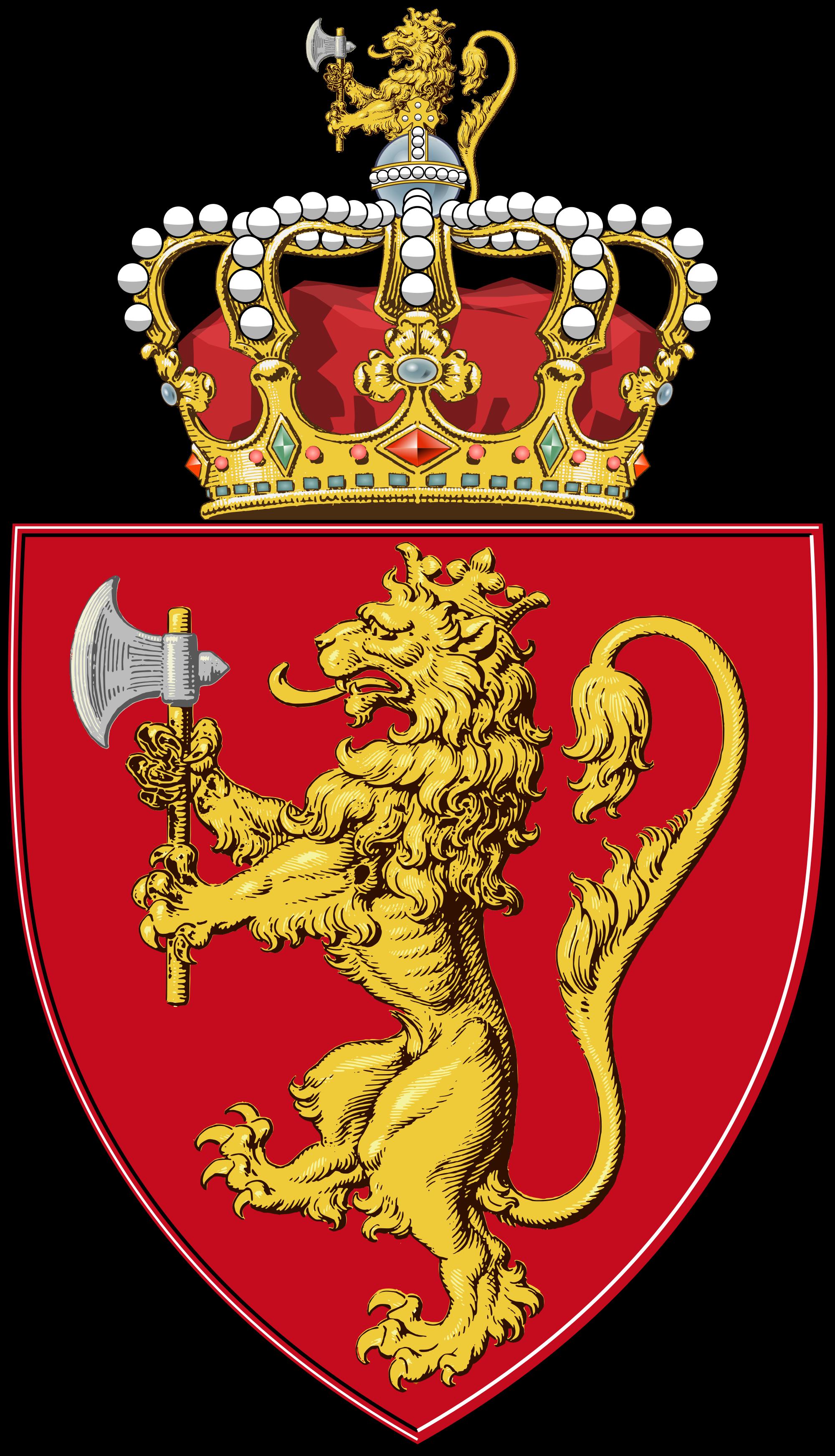 Coat Of Arms Norway Heraldry Pinterest
