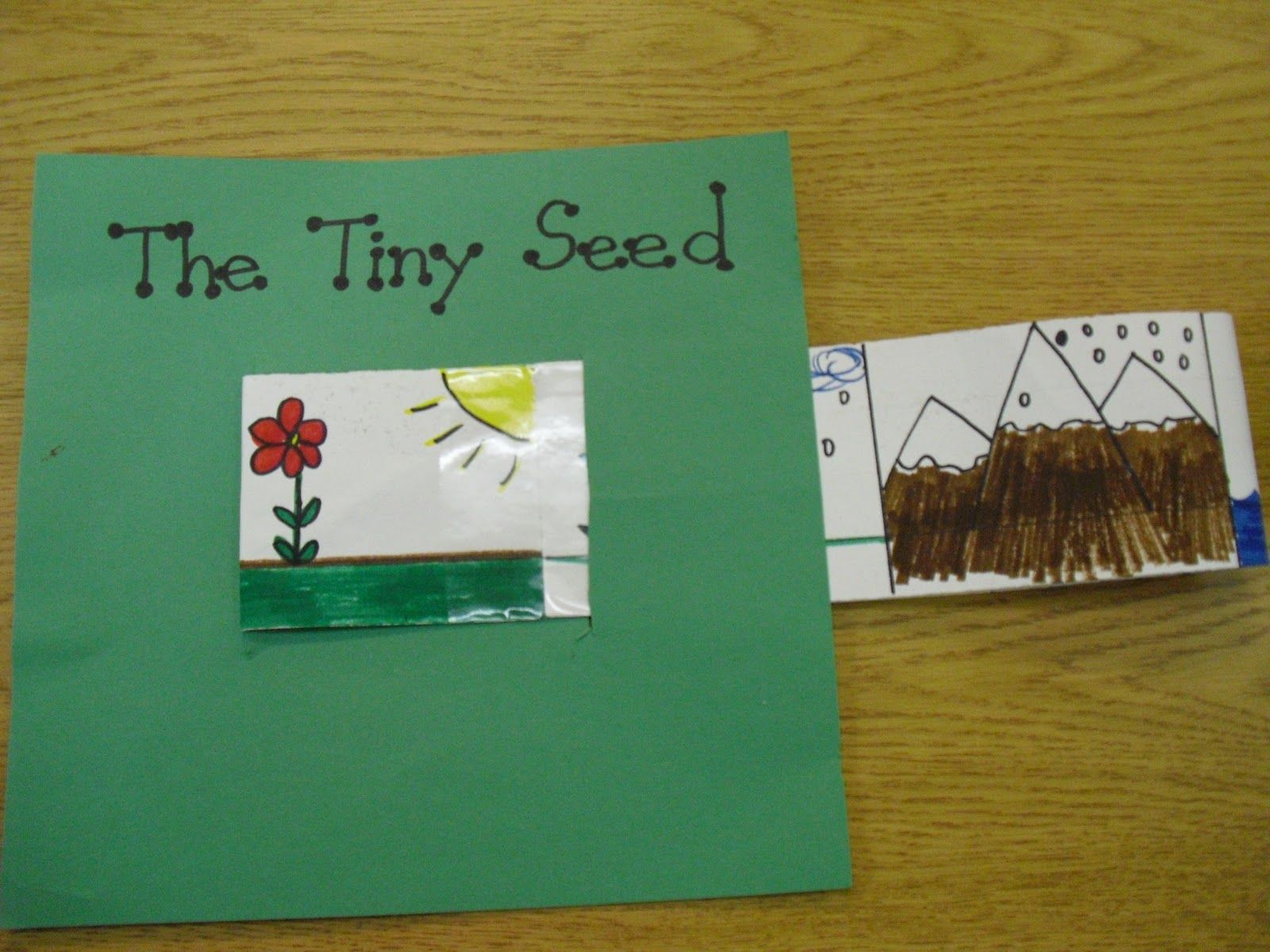 The Tiny Seed Worksheets
