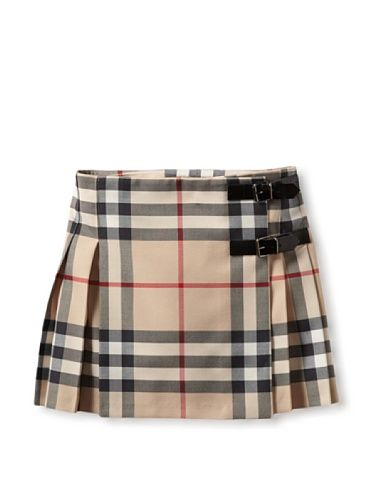 bb07e116ddb 40% OFF Burberry Kid s Kilt Skirt (Check)