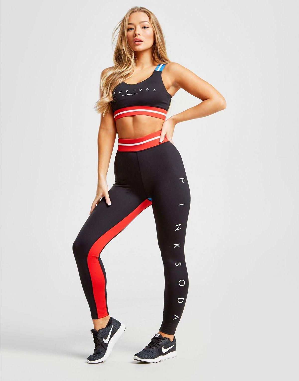 Pink Soda Sport Fitness Tights   Tights