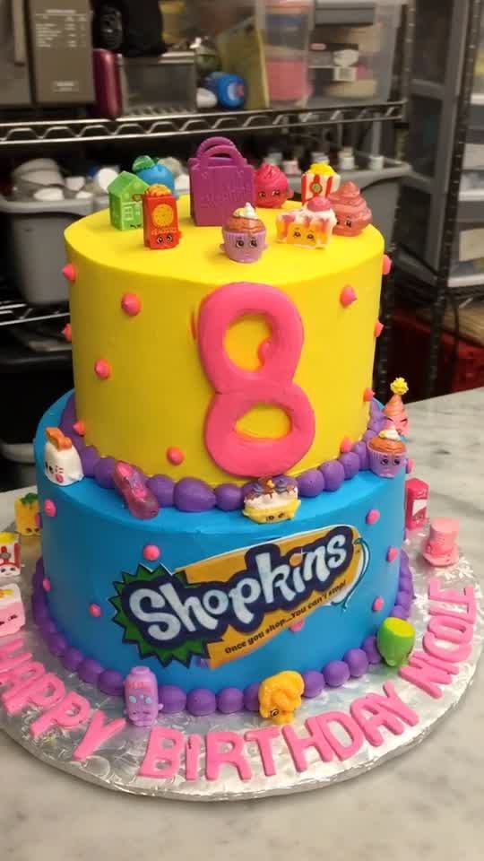 Sam S Club Shopkins Cake