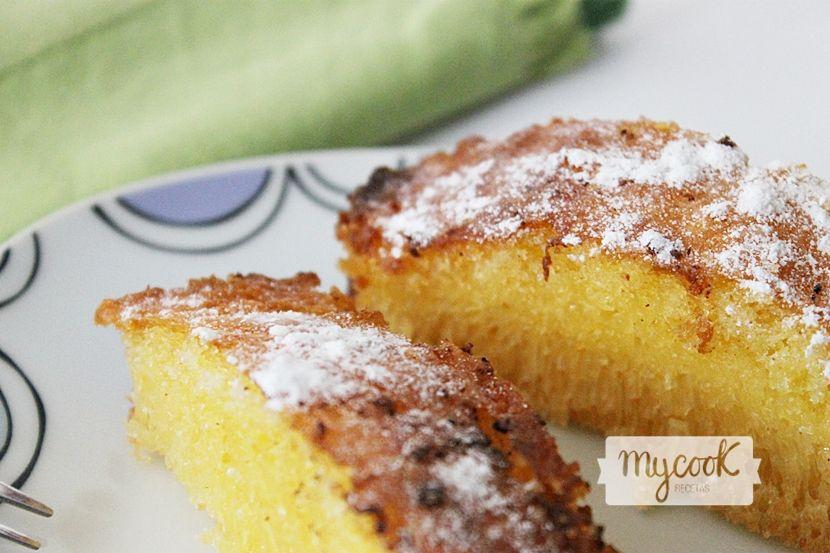 Bizcocho de maizena sin gluten - http://www.mycookrecetas.com/bizcocho-de-maizena-sin-gluten/