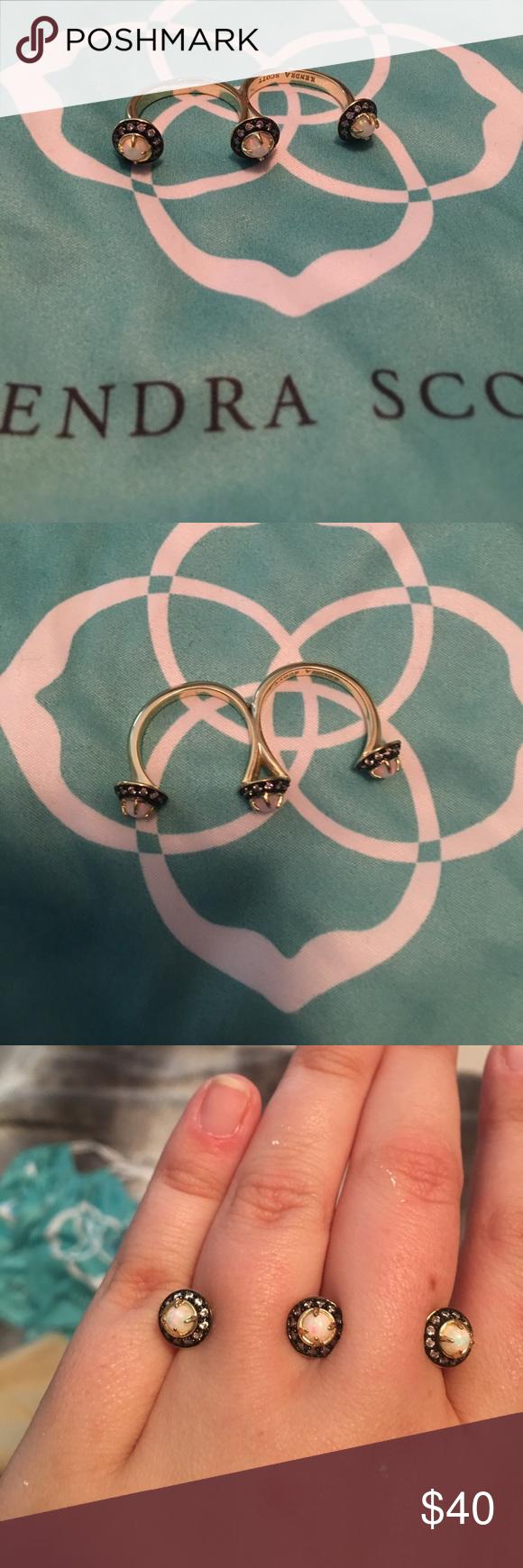 Kendra scott odette ring kendra scott odette ring opal iridescent