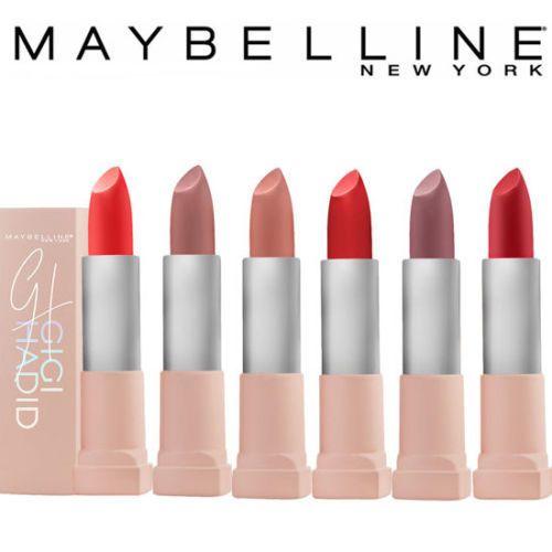 Maybelline Gigi Hadid East And West Coast Glow Matte Lipstick