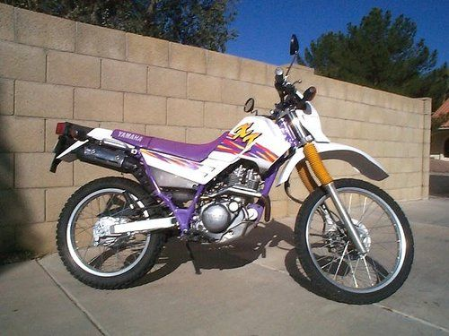 Yamaha Xt225 Factory Owners Repair Manual 1986 2006 Download Repair Manuals Yamaha Owners Manuals