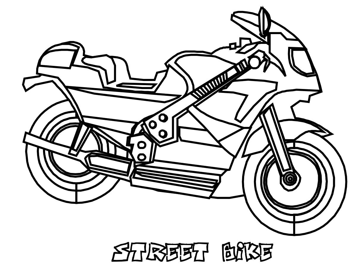 Street Bike Motorcycle