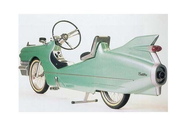 レトロカッコいい キャデラック風自転車 Roomie ルーミー Cool Bicycles Bike Design Bicycle