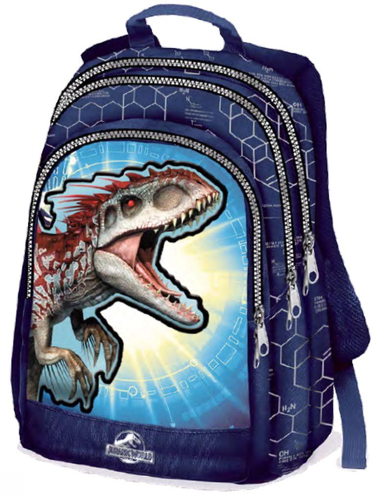 nuovi stili dc6ce 3a8c2 Zaino Trolley Jurassic World Scuola | Jurassic park/world ...
