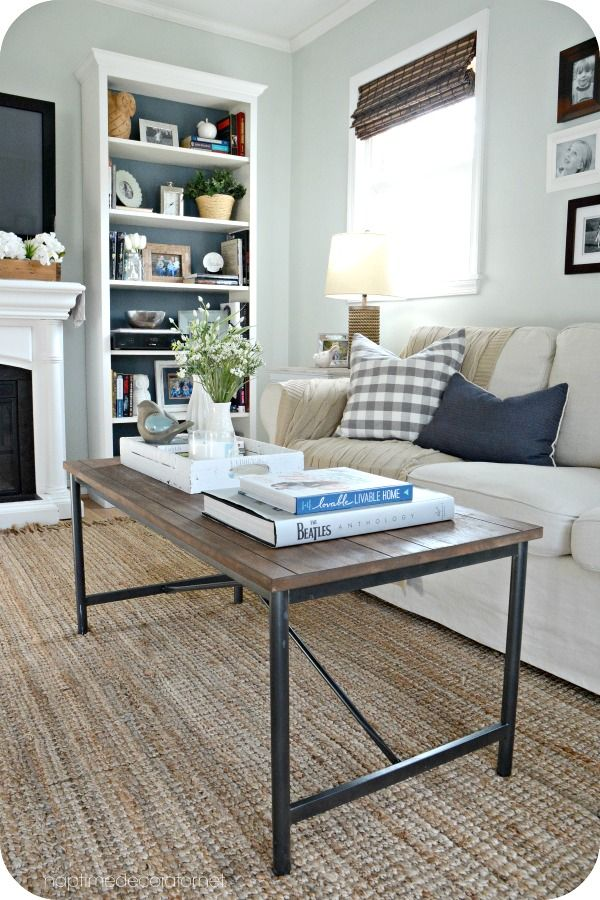 restaining a coffee table  table furniture home decor