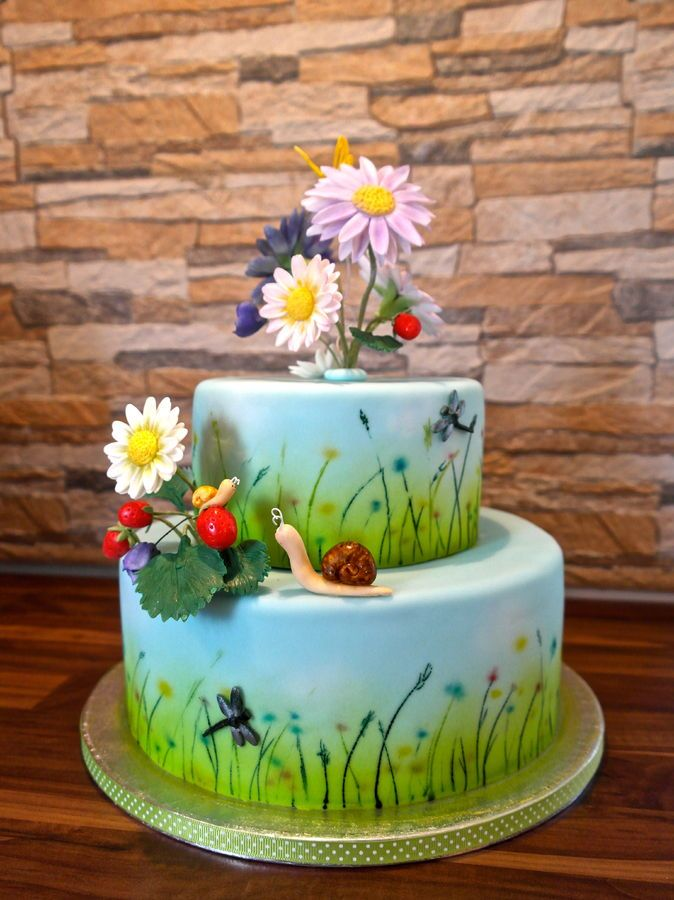 Summer Cakes | Summer meadow cake