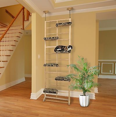 Awesome Floor Ceiling Cat Tree Shelf Tower Pet Furniture Perch Shelves Condo House  Post   EXCLUSIVE DEAL