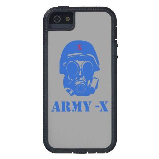 Army-X #iPhone 5 Tough Xtreme Case.