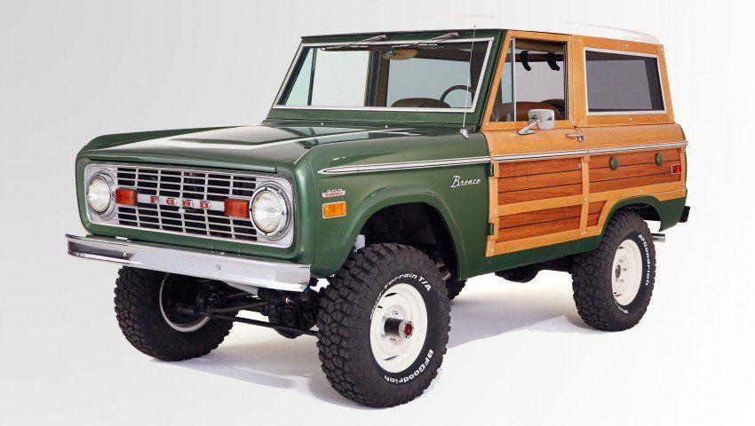 A Fully Refurbished, NixonEra, OneofaKind Ford Bronco