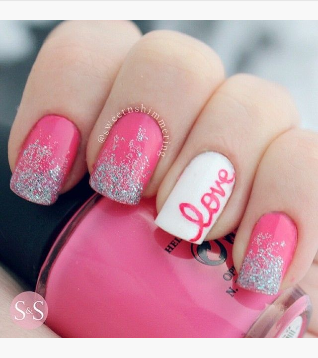 26 pink nail art on designs next httpdesignsnext prinsesfo Image collections