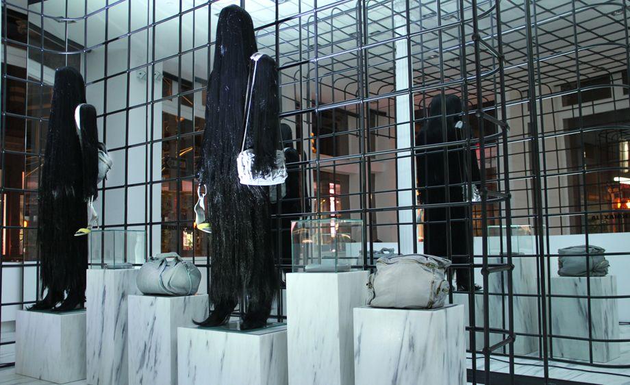 """An army of sleepwalkers"" Alexander Wang's flagship store in Soho, New York"
