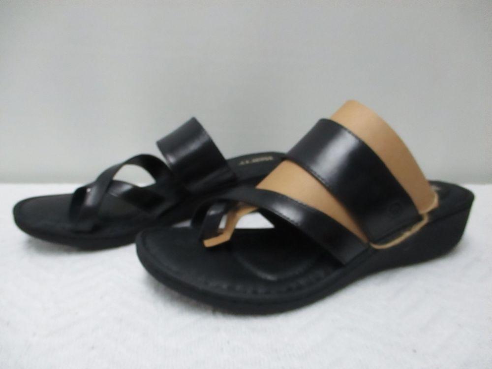 b9cf87dc05c3 Born Siene Wedge Sandals Black - Women s  fashion  clothing  shoes   accessories  womensshoes  sandals (ebay link)