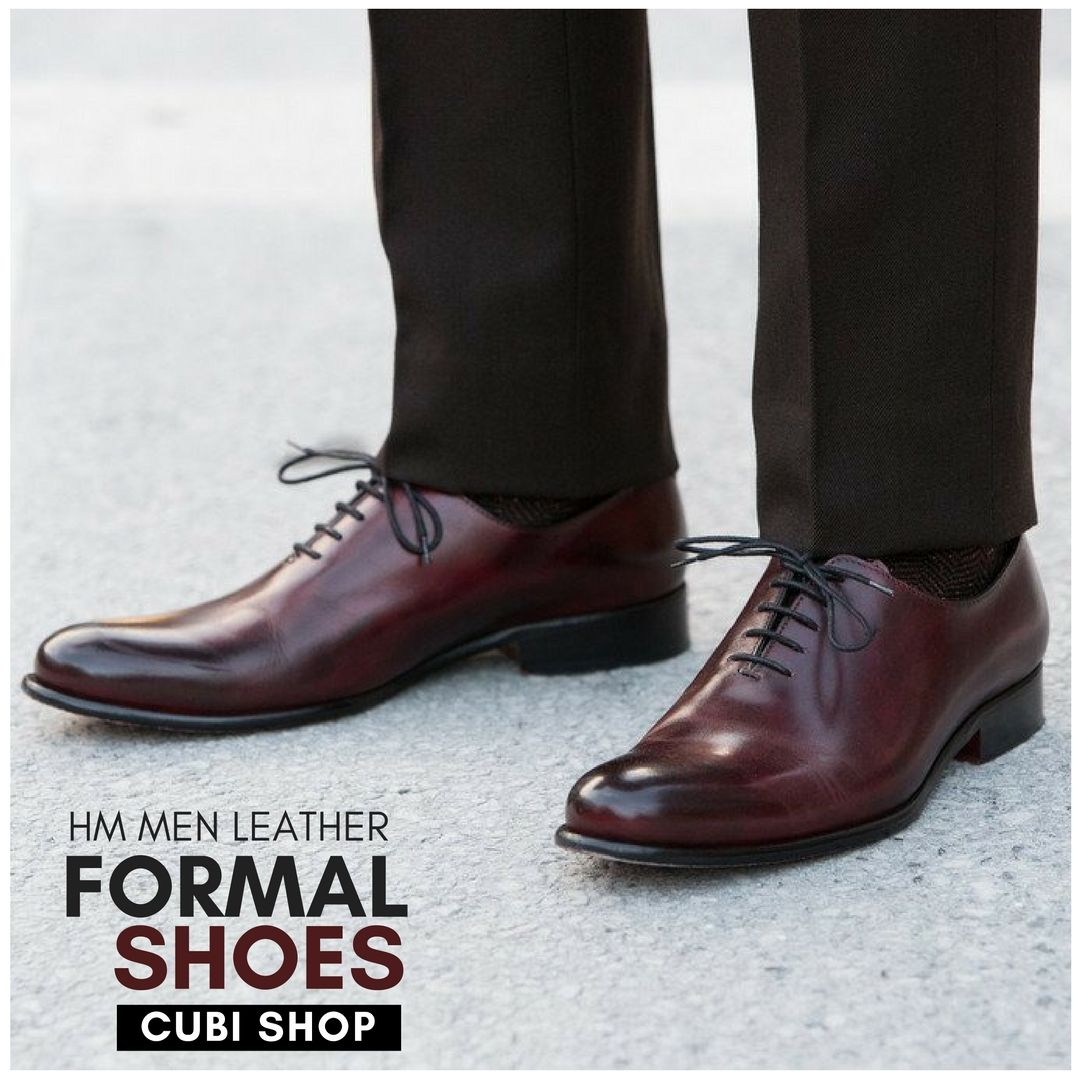 e2b11eb6165 Buy new collection of Hm Men Leather Formal  Shoes at lowest price from   CubiShop.  fomalshoes
