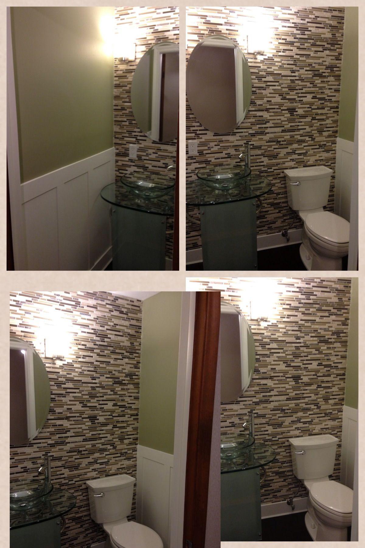 1 2 Bath Tile Wall Bamboo Floor Bamboo Flooring Bathroom Mirror Wall Tiles