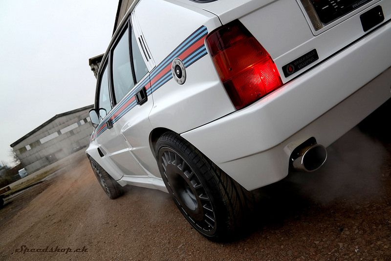 Speedshop Ch Home Of Lancia Delta Hf Integrale Black And White