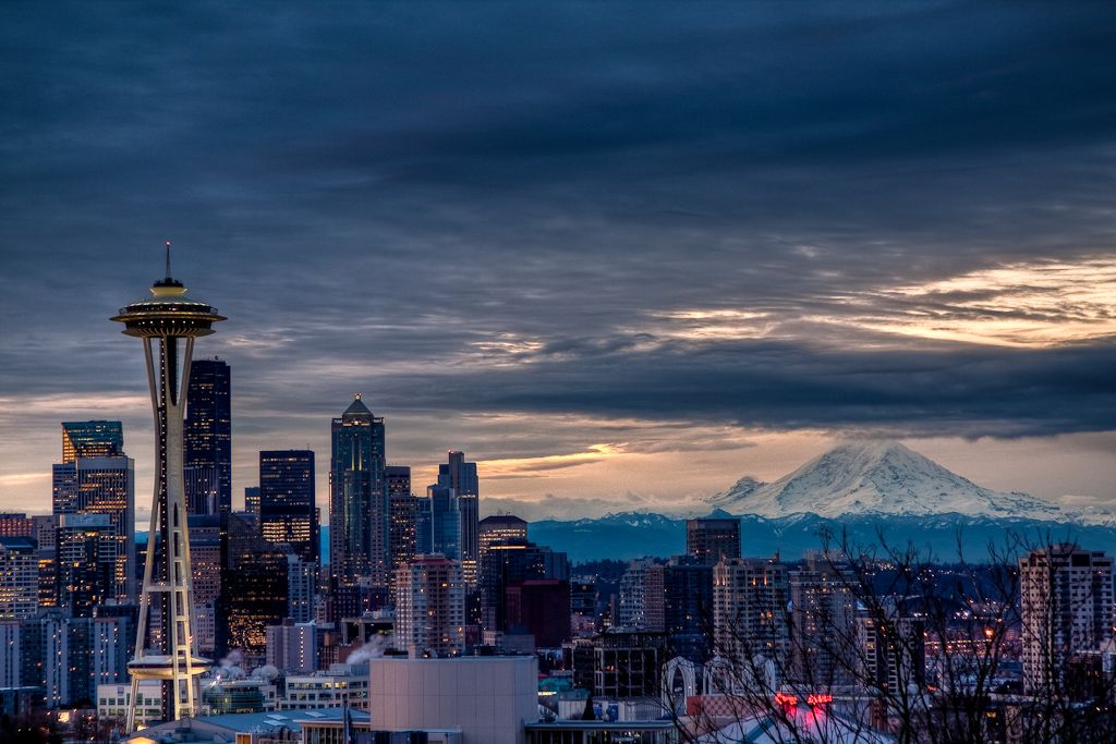 Seattle Washington Fall Skyline Wallpaper Mt Rainier Pictures Mount Rainier Summer Mount