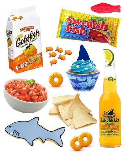 How To Throw An Epic Shark Week Party - Kaelah Bee by kbeeblog, via Flickr #sharkweekfood How To Throw An Epic Shark Week Party - Kaelah Bee by kbeeblog, via Flickr #sharkweekfood