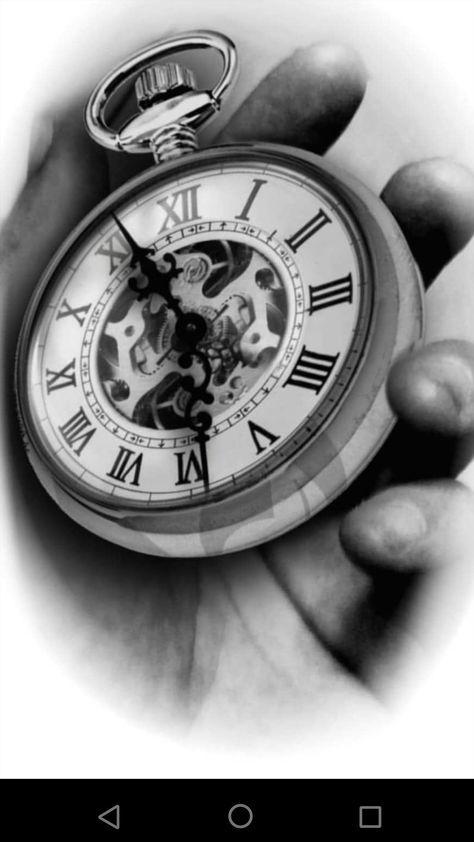 Tattoo Compass Realistic Black 60 Best Ideas Pocket Watch Tattoos Pocket Watch Tattoo Design Watch Tattoo Design
