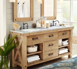 bathroom furniture decor pottery barn - Pottery Barn Bathroom