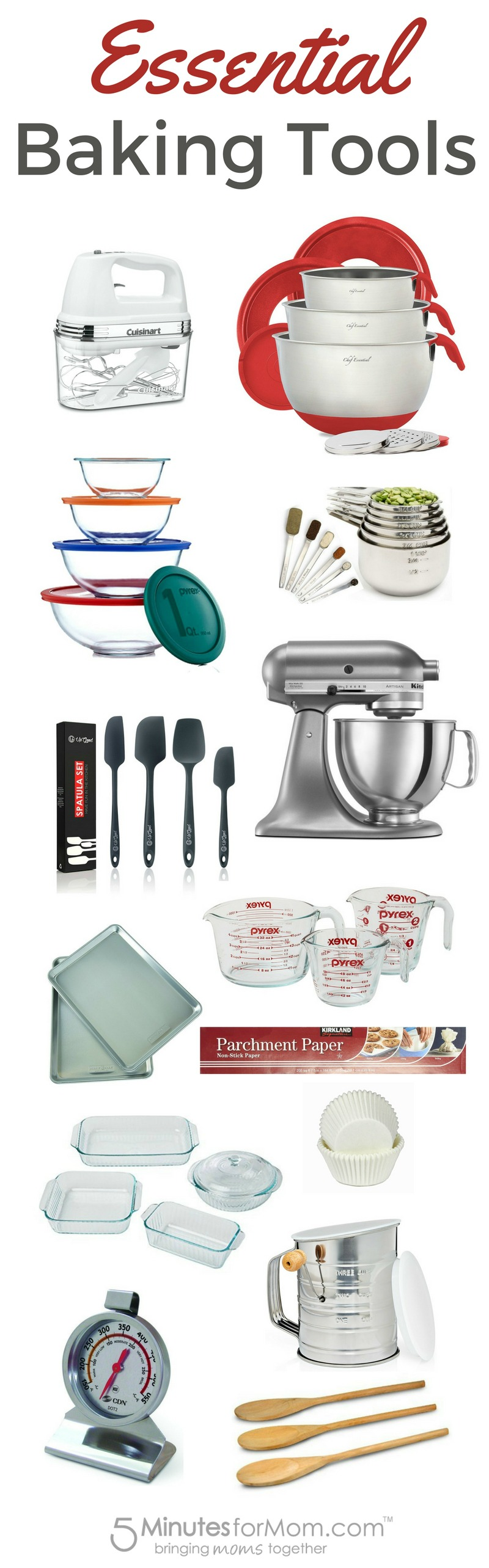 Essential Baking Tools And Equipment Baking Tools Tools And
