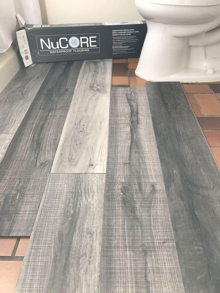 Vinyl Plank Flooring That S Waterproof, Is Vinyl Plank Flooring Ok For Bathrooms