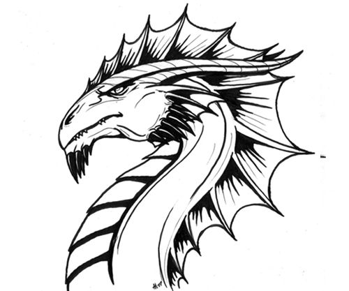 How To Draw A Dragon | InspireFirst