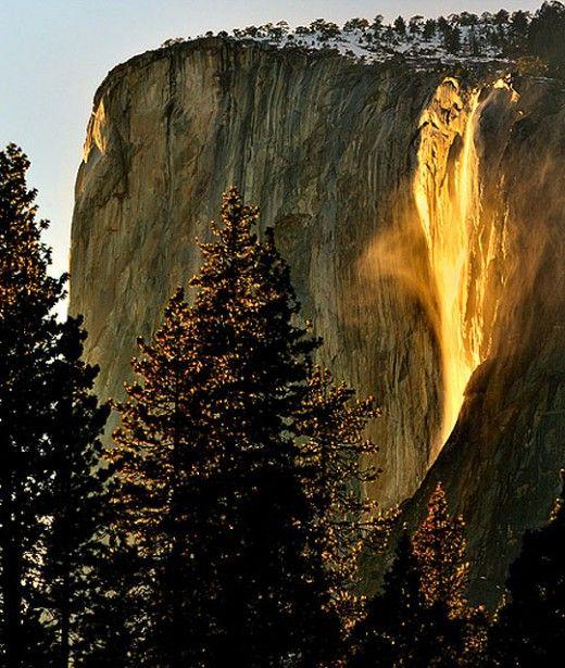 The Yosemite Firefall