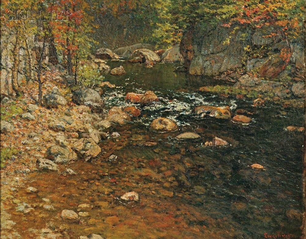 Quot Trout Brook North Newry Maine Quot John Joseph Enneking