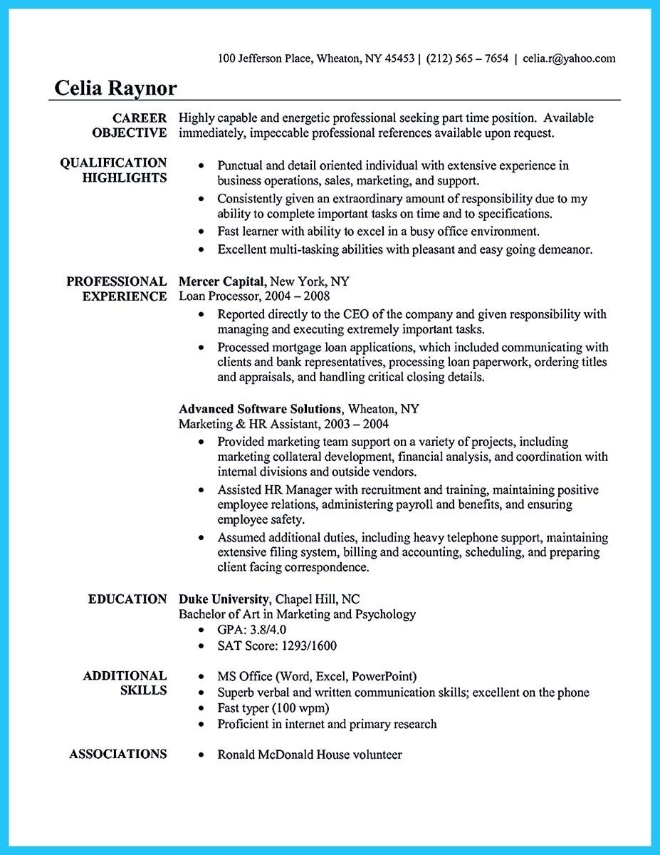 awesome Best Administrative Assistant Resume Sample to Get