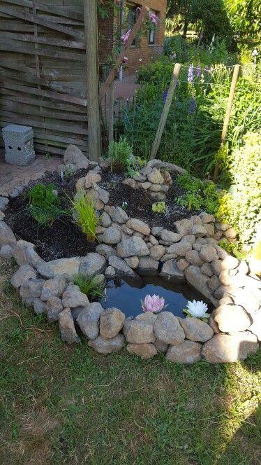 Kräuterschnecke Garten Pinterest Hochbeet, Garten terrasse - wasserfall garten wand