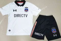 0c53a2cad 2017-18 CD Colo-Colo Home White Kid-Youth Soccer Uniform