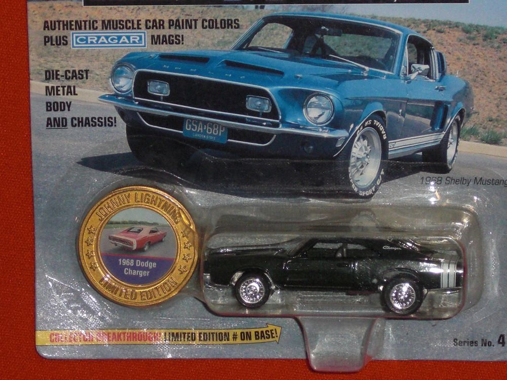 JOHNNY LIGHTNING MUSCLE CAR USA 1:64 1968 DODGE CHARGER ...