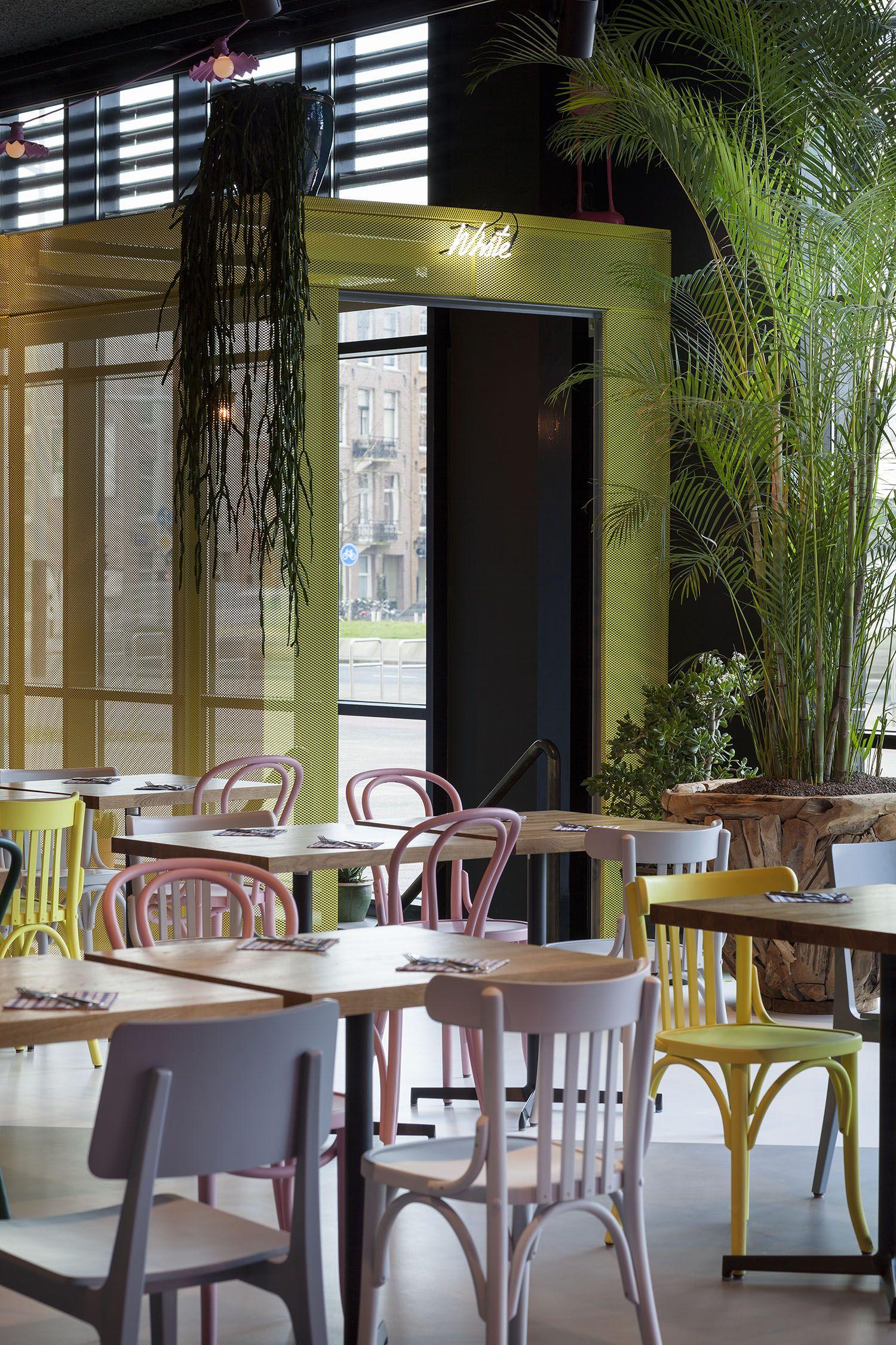 Interior design restaurant The Pool Amsterdam; design by Ninetynine ...