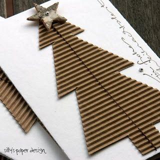 wellpappe weihnachtskarte fundb ro f r briefe und karten. Black Bedroom Furniture Sets. Home Design Ideas