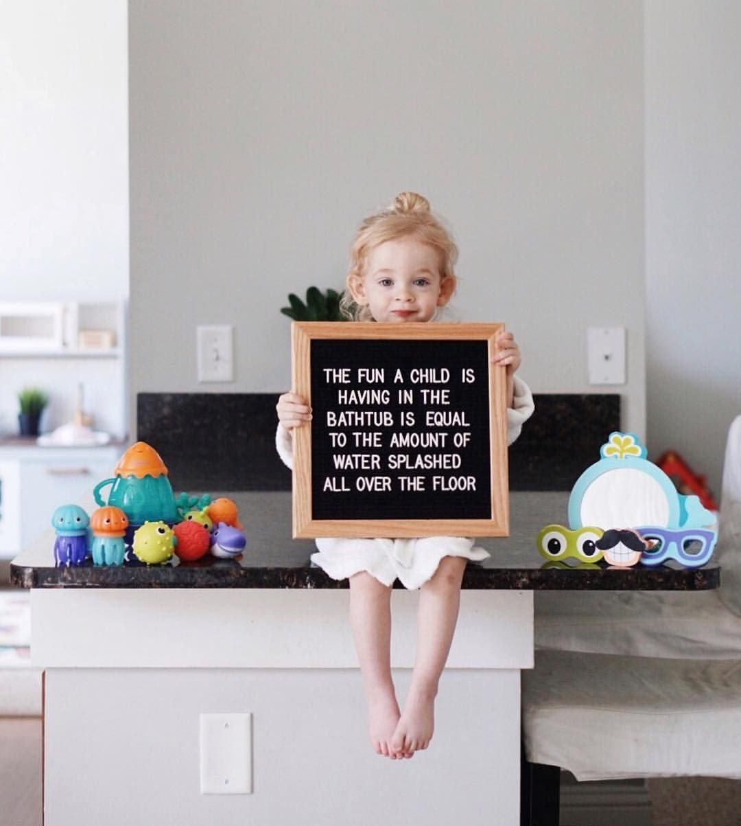 True Or False Ad Bath Time Has Gotten A Little More Exciting And Messy Around Here With Our Infanti Bath Time Quote Bath Toys Baby Bath Toys