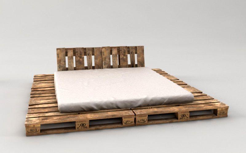 Palettenbett Bauen Ganz Einfach Hier 2 Praktische Varianten Palettenbett Schlafzimmer Neu Gestalten Bett Aus Paletten