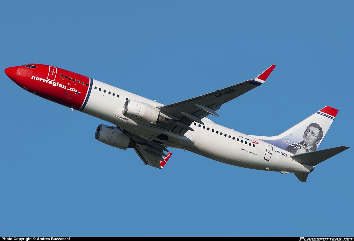 LN-NOE Norwegian Air Shuttle Boeing 737-8Q8(WL)
