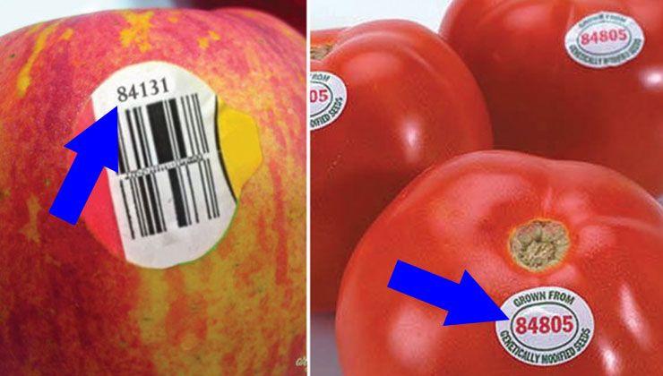 É importante que saibas o significado do número 8 ao início, e depois disso de certeza que vais olhar mais para os rótulos nas frutas e vegetais, e evitar comprar os que começam com o número 8!