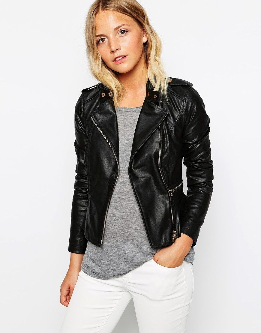 A Gril S Guide To Wardrobe Essentials Leather Jackets Women Real Leather Jacket Fashion [ 1110 x 870 Pixel ]