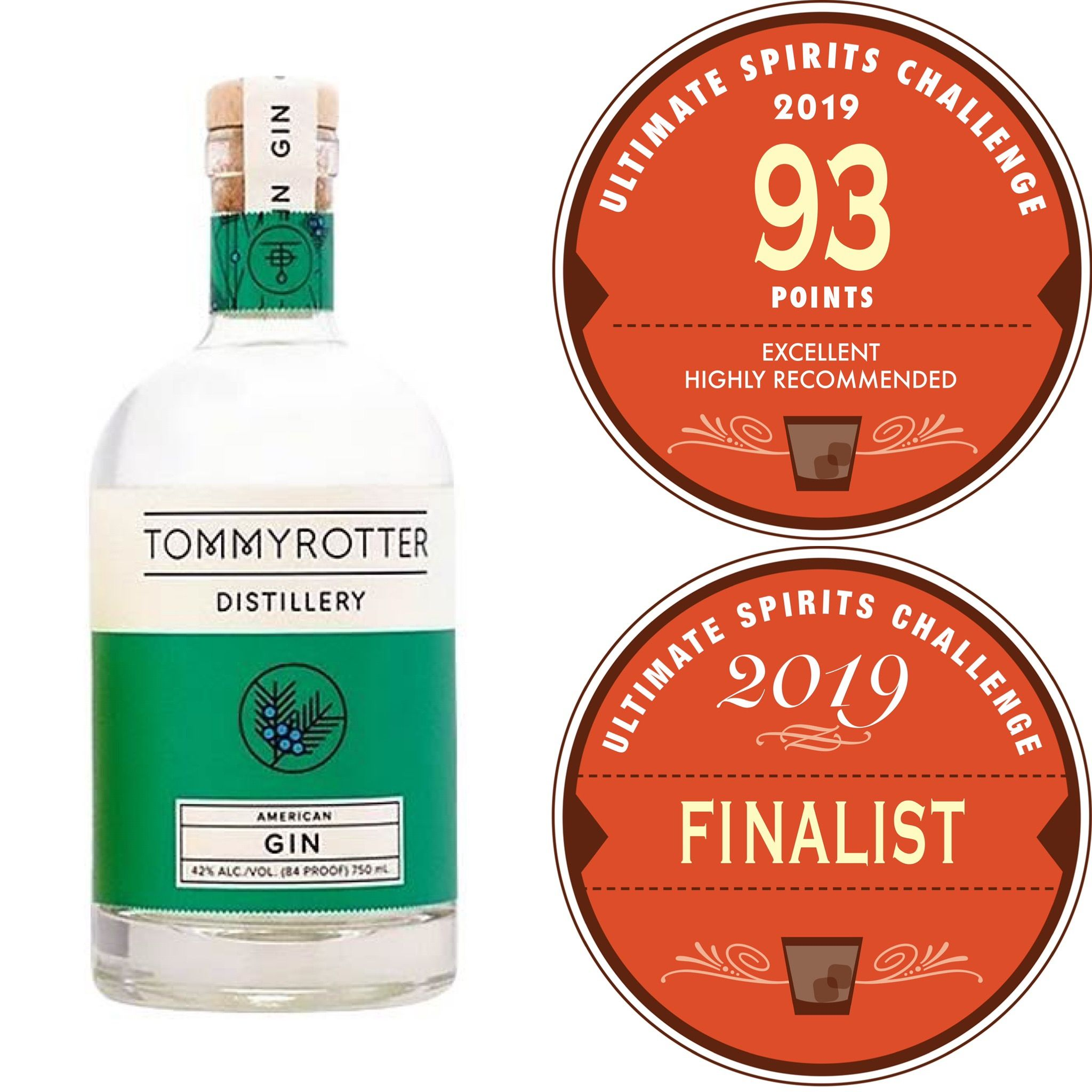 Tommyrotter 93 Points In American Gin Competition In 2020 Booze Gin Gin Distillery
