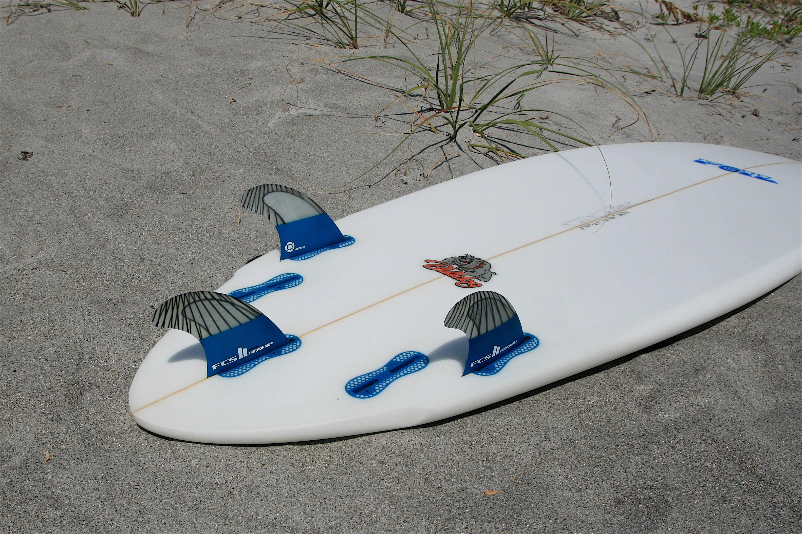 Fcsii Pcc Performers In 6 0 Foil The Bulldog Short Board Surfboard Surf Accessories Cocoa Beach