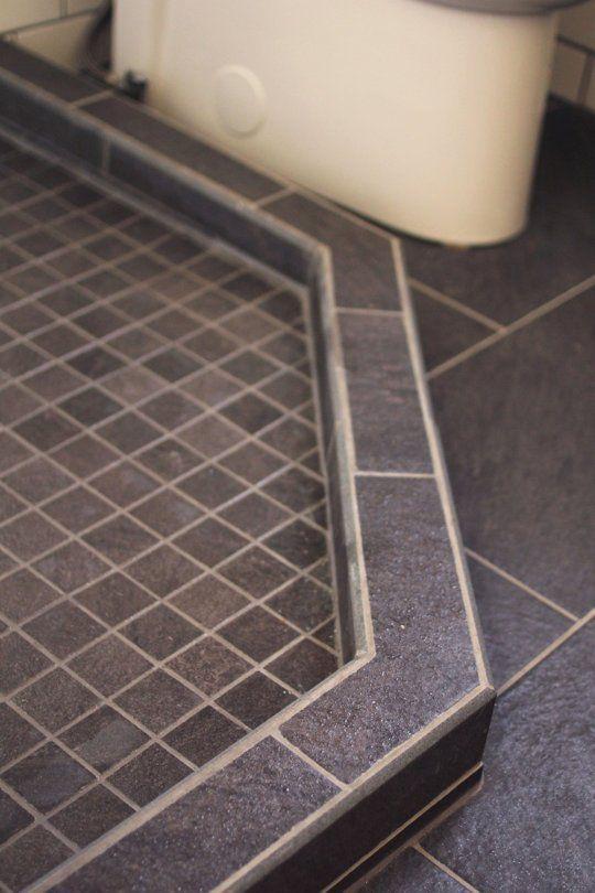 How To Build A Custom Tiled Shower Pan Custom Tile Shower