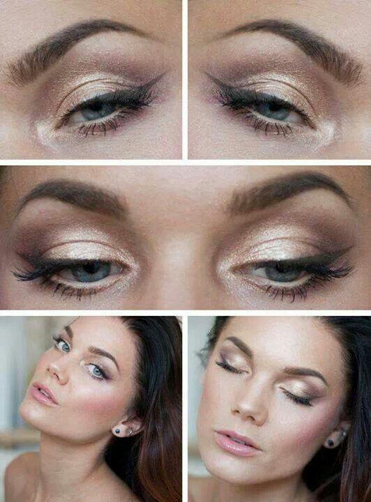 Maquillaje Suave De Noche Blue Eye Makeup Eye Makeup Blue Makeup