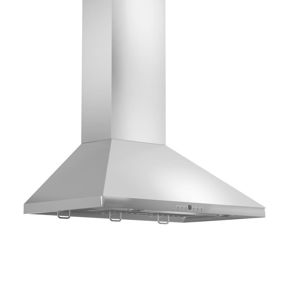 ZLINE Kitchen and Bath Zline 36 in. 900 CFM Wall Mount Range Hood in ...